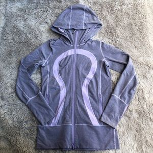 Lululemon Stride Jacket Lilac Full Zip